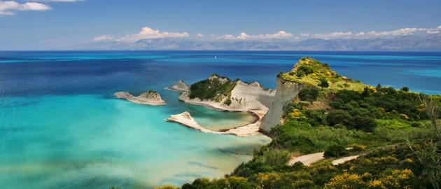 Zielona wyspa Korfu