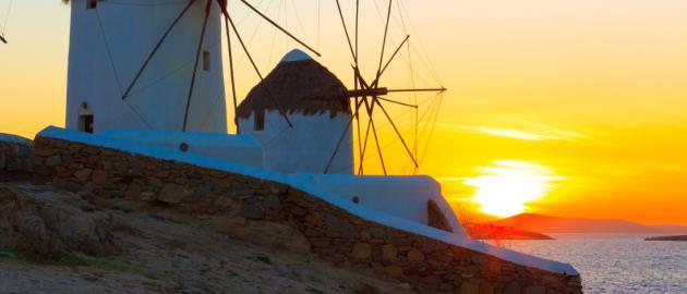 Tydzień na Mykonos