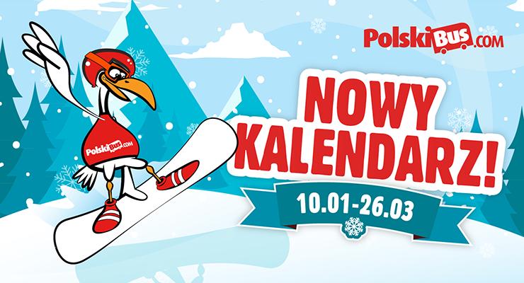 Nowy Kalendarz w PolskiBus.com